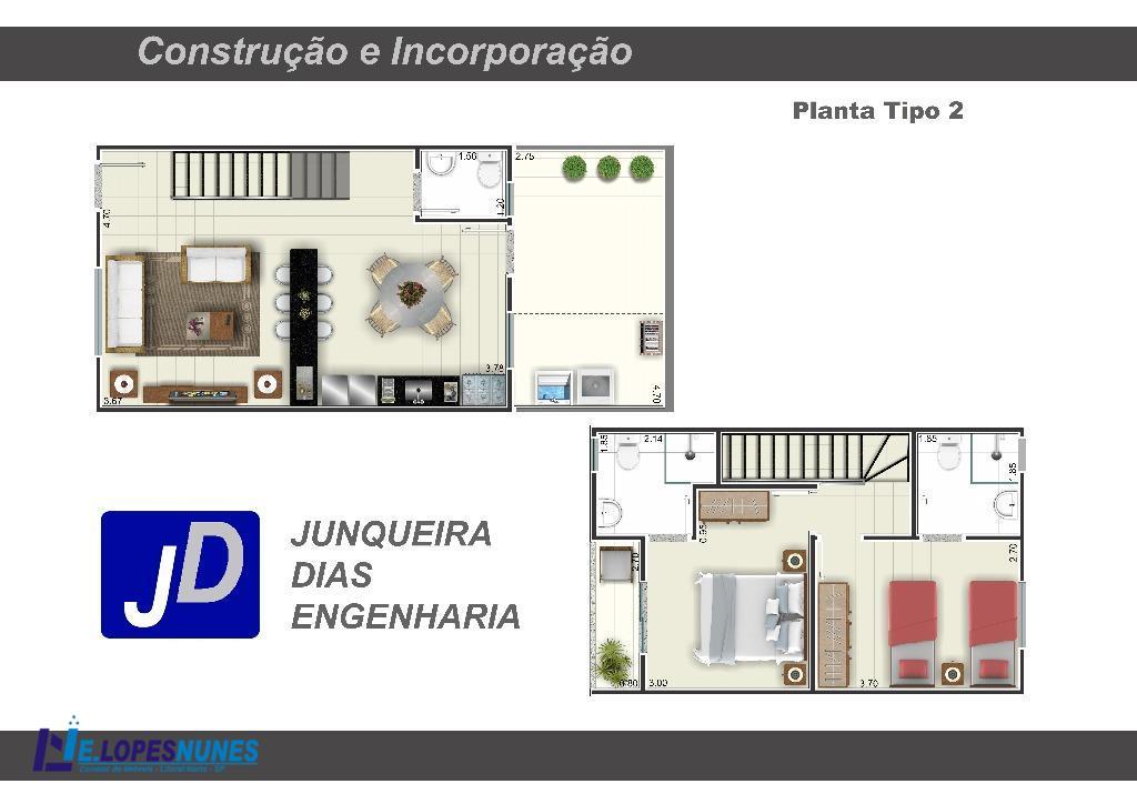 Sobrado residencial à venda, Prainha, Caraguatatuba - SO0001.