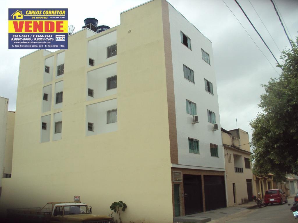 Apartamento residencial à venda, Industrial, Ubá.