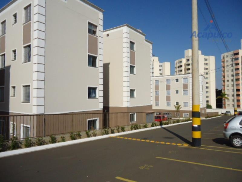 Apartamento residencial à venda, Loteamento Industrial Machadinho, Americana - AP0601.