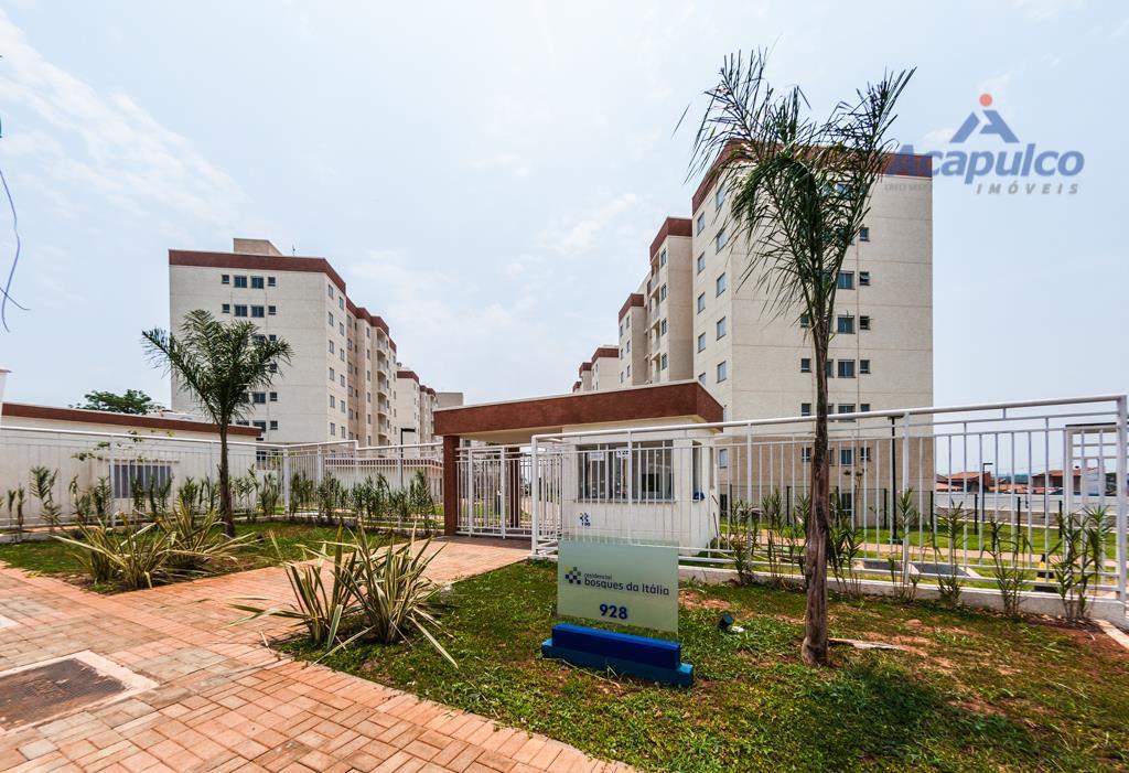 Apartamento residencial à venda, Jardim Guanabara, Americana - AP0818.