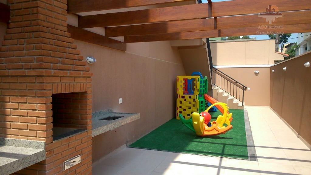Apartamento Novo  - Residencial para locação, Vila Cecília Maria, Santo André.