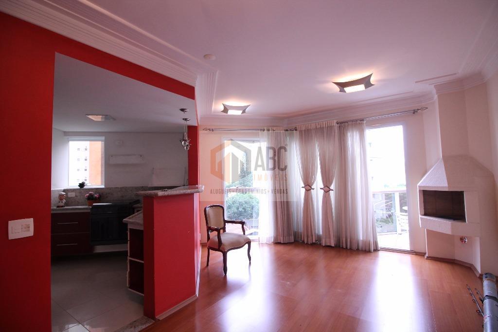 Apartamento Duplex residencial à venda, Bairro Jardim, Santo André.