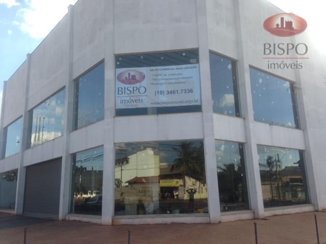 Salão  comercial para locação, Jardim São Francisco, Santa Bárbara D'Oeste.