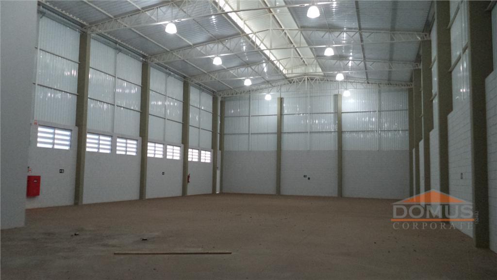 Galpão industrial para locação, Parque Jatobá (Nova Veneza), Sumaré.
