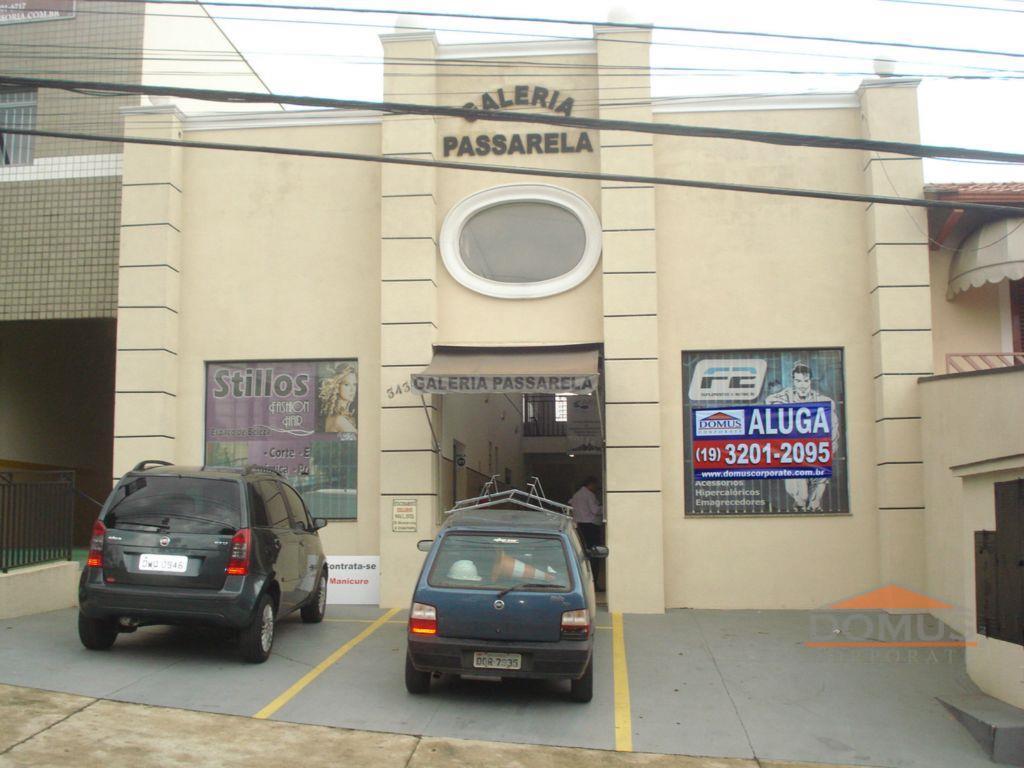 Sala comercial para locação, Jardim São Vicente, Campinas.