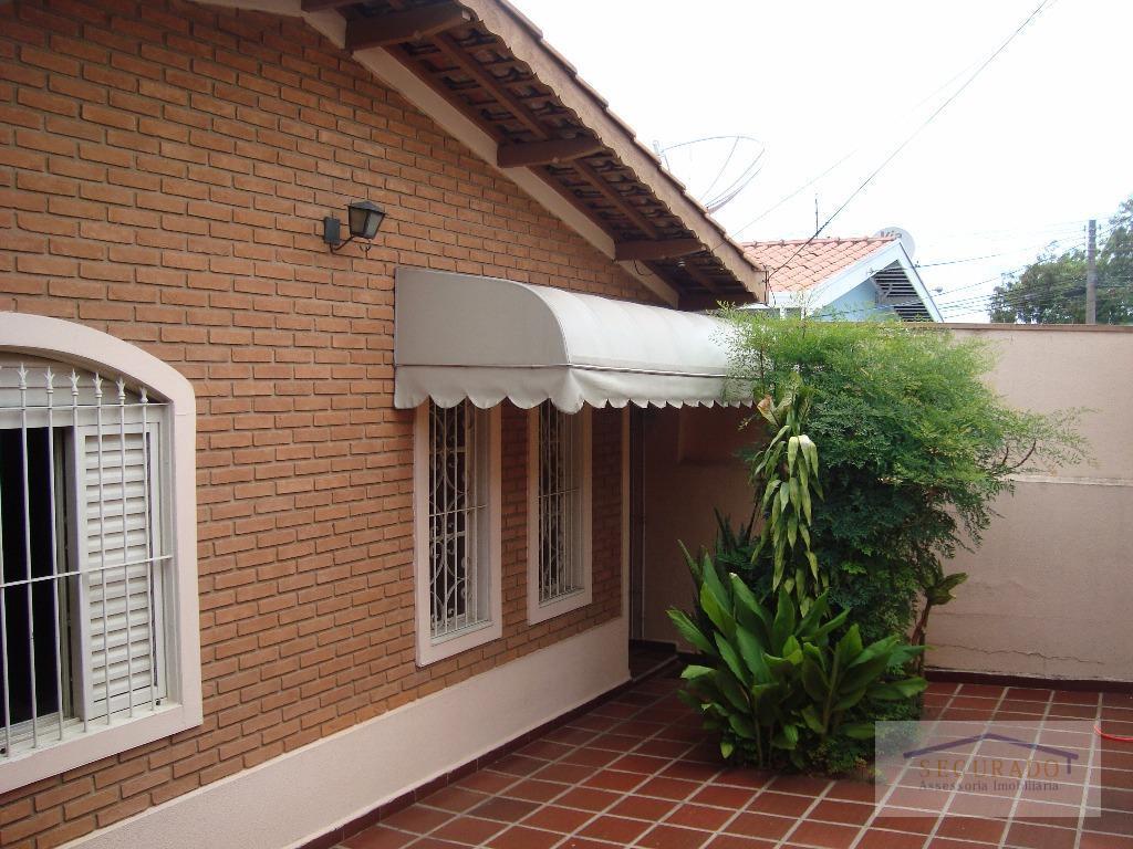 Casa residencial à venda, Jardim García, Campinas.