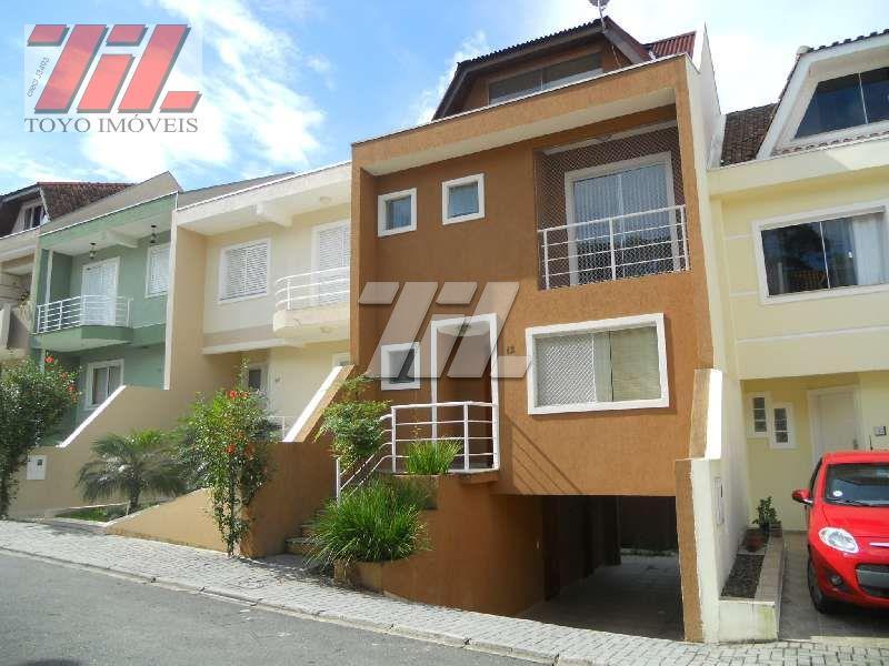 Sobrado residencial à venda, Cidade Industrial, Curitiba - CA0007.