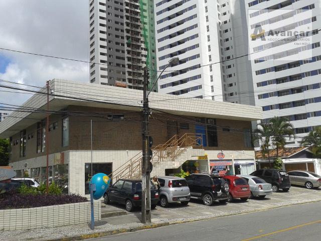 Sala comercial para locação, Casa Amarela, Recife.