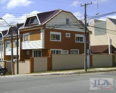 Sobrado residencial à venda, Ahú, Curitiba - SO0001.
