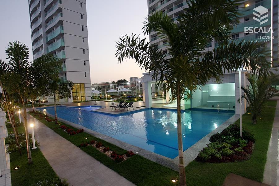 Apartamento à venda no Guararapes, 100% nascente, 3 quartos, 2 suítes, novo. Financia