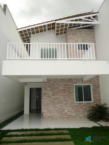 Casa duplex nova residencial à venda, Pires Facanha, Eusebio.