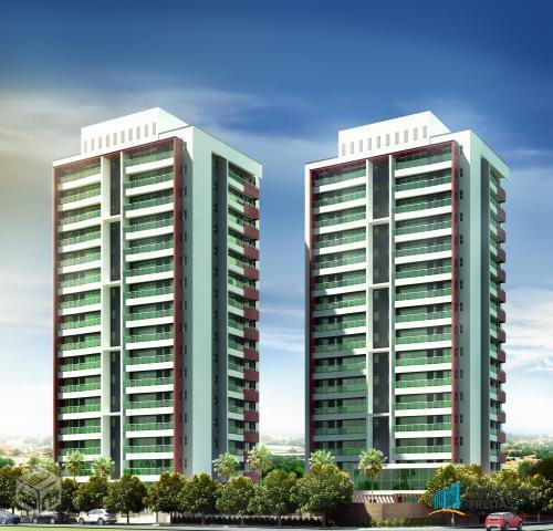 Apartamento residencial à venda, Engenheiro Luciano Cavalcante, Fortaleza - AP0900.