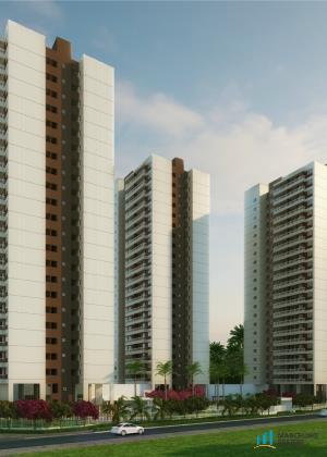 Apartamento residencial à venda, Presidente Kennedy, Fortaleza - AP2146.